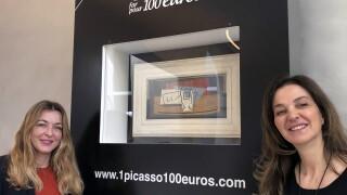 France EU Raffling Picasso