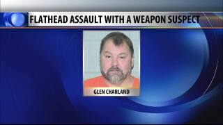 Man arrested after allegedly firing shots at two people in the Flathead