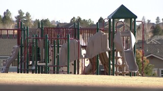 Coyote Hills School playground