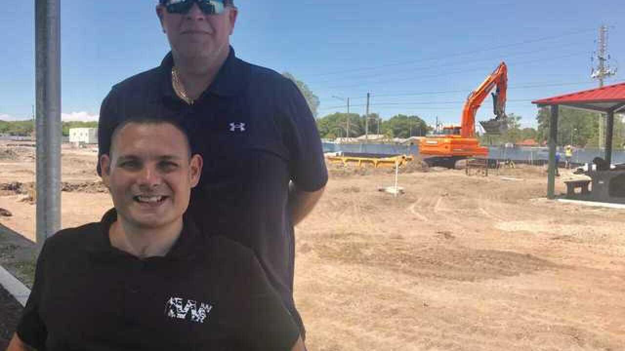 New Pinellas wounded warrior park taking shape