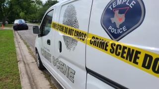 Temple Police Crime Scene