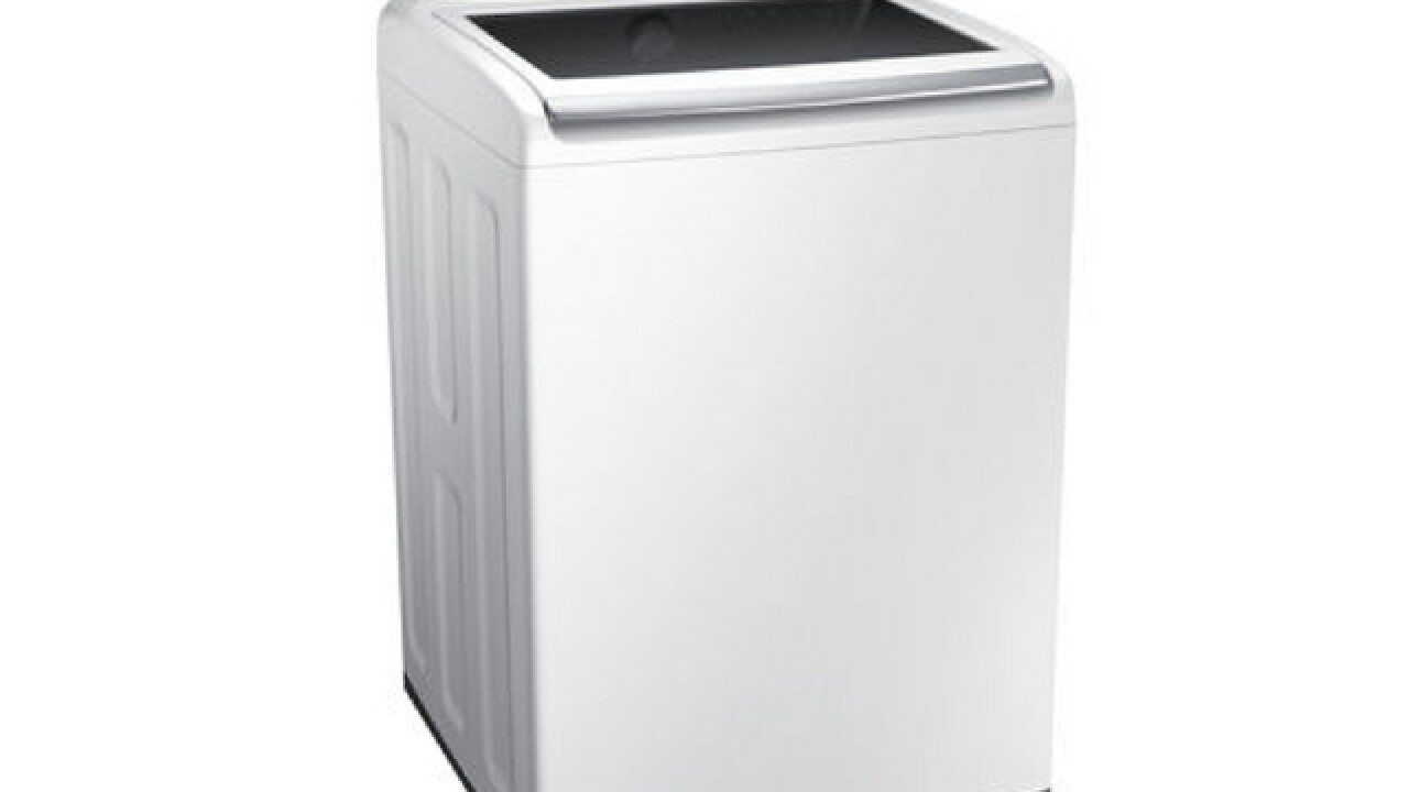 Samsung recalls top-load washing machines