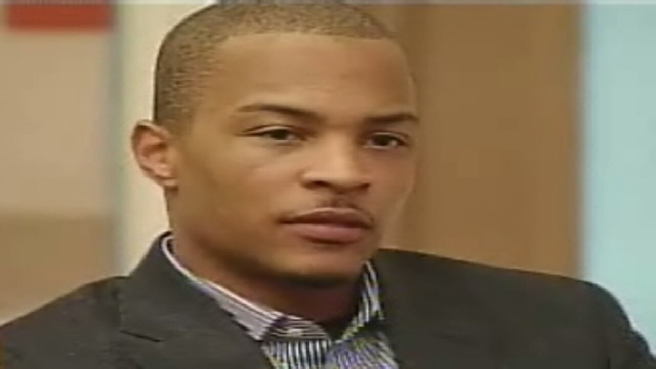 Rapper T.I. charged with three misdemeanors