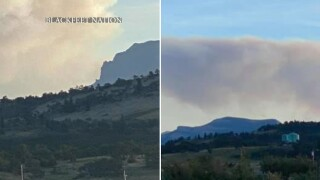 Visibility worsens as Drumming Fire reaches 90 acres