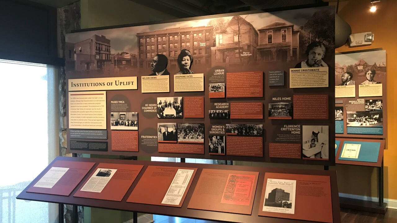 Mid America Black Archives display