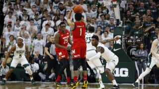 No. 9 Maryland ends game on 14-0 run, beats Michigan State