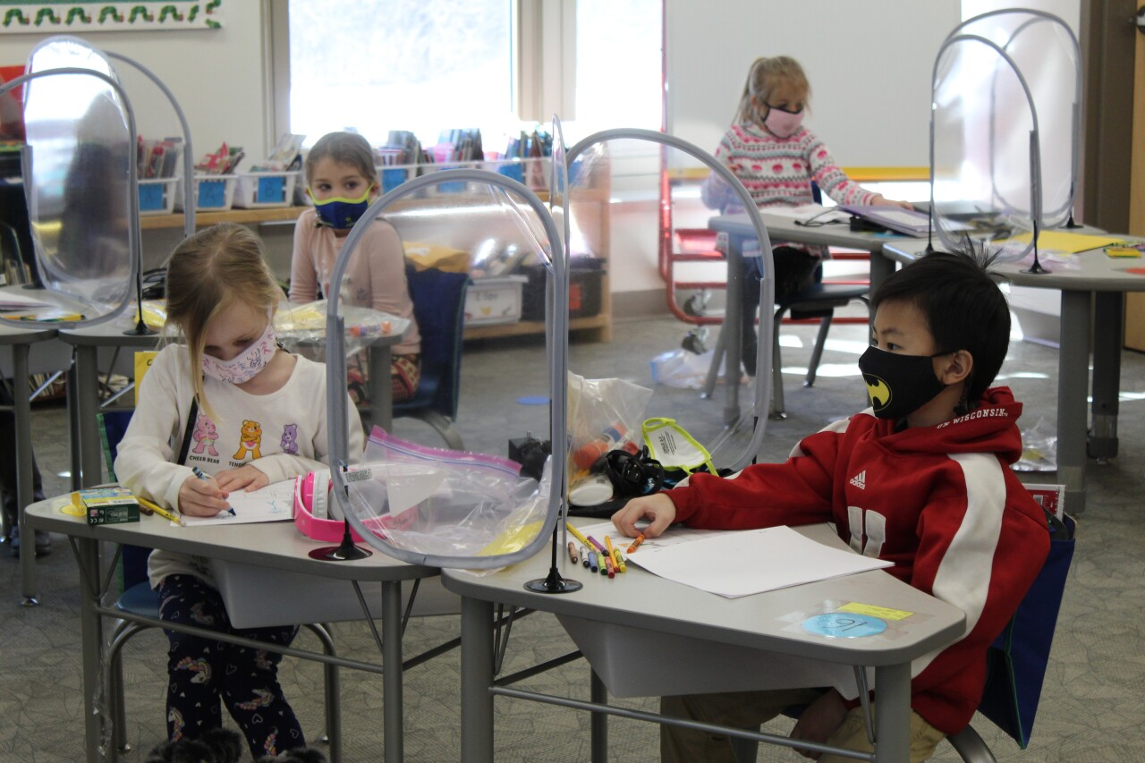 In person learning begins for some students at Green Bay Area Public Schools