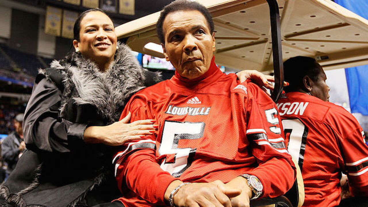 Muhammad Ali to be laid to rest Friday