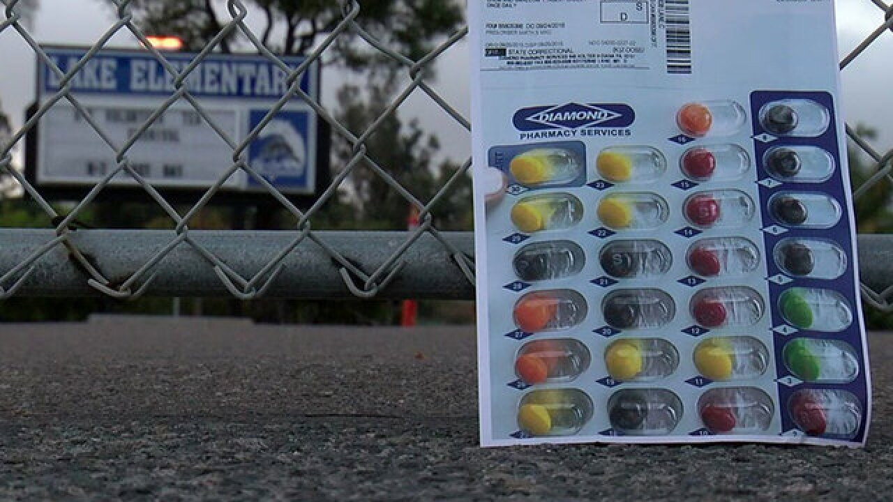 Mom upset after son's teacher gives students candy packed as pills