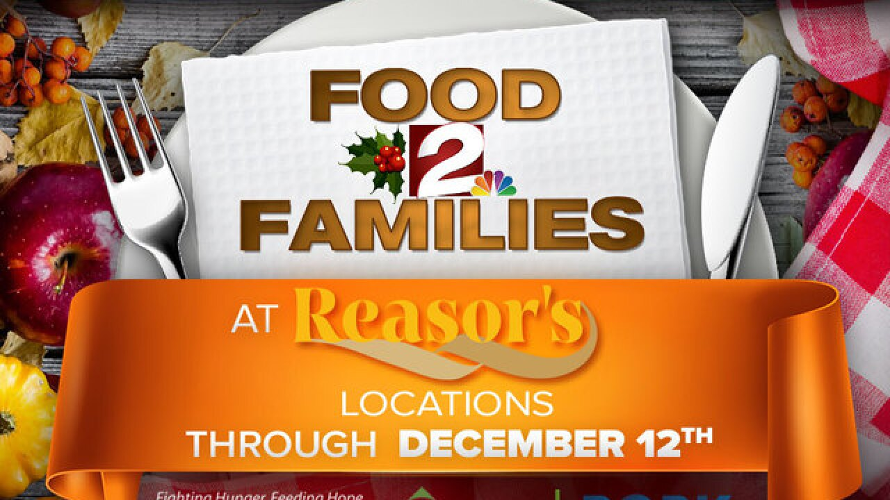 FOOD DRIVE: Nov. 15 at 2 Works for You studios