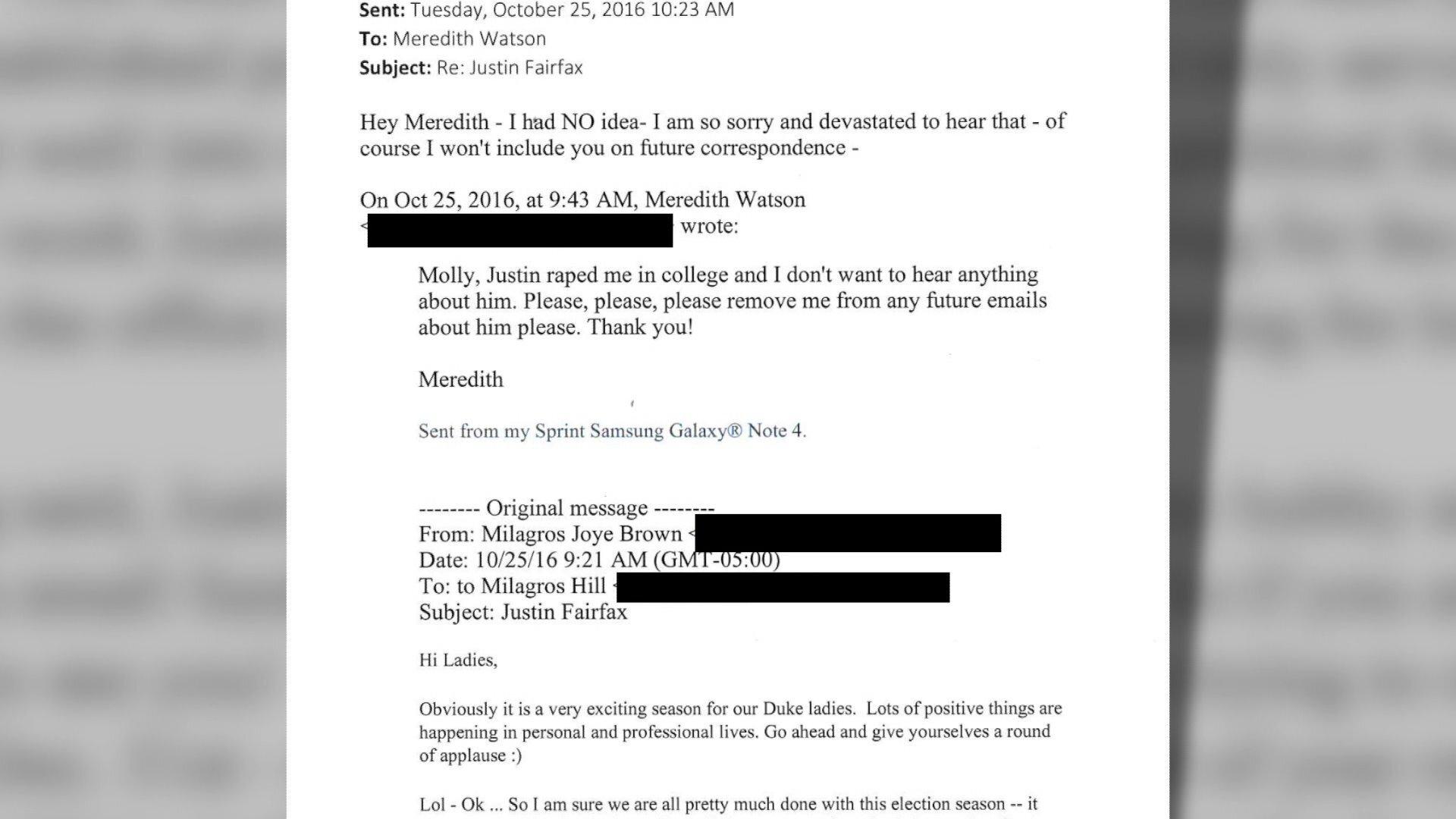 """Photos: Lt. Gov. Fairfax """"will not resign"""" following second sexual assaultallegation"""