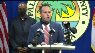 Palm Beach County Mayor Dave Kerner at news conference June 5, 2020