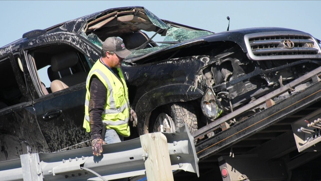 """he Montana Highway Patrol calls it a """"a total miracle"""" after a mother and her five children survived a severe crash in Bozeman on Wednesday after rolling several times on I-90."""