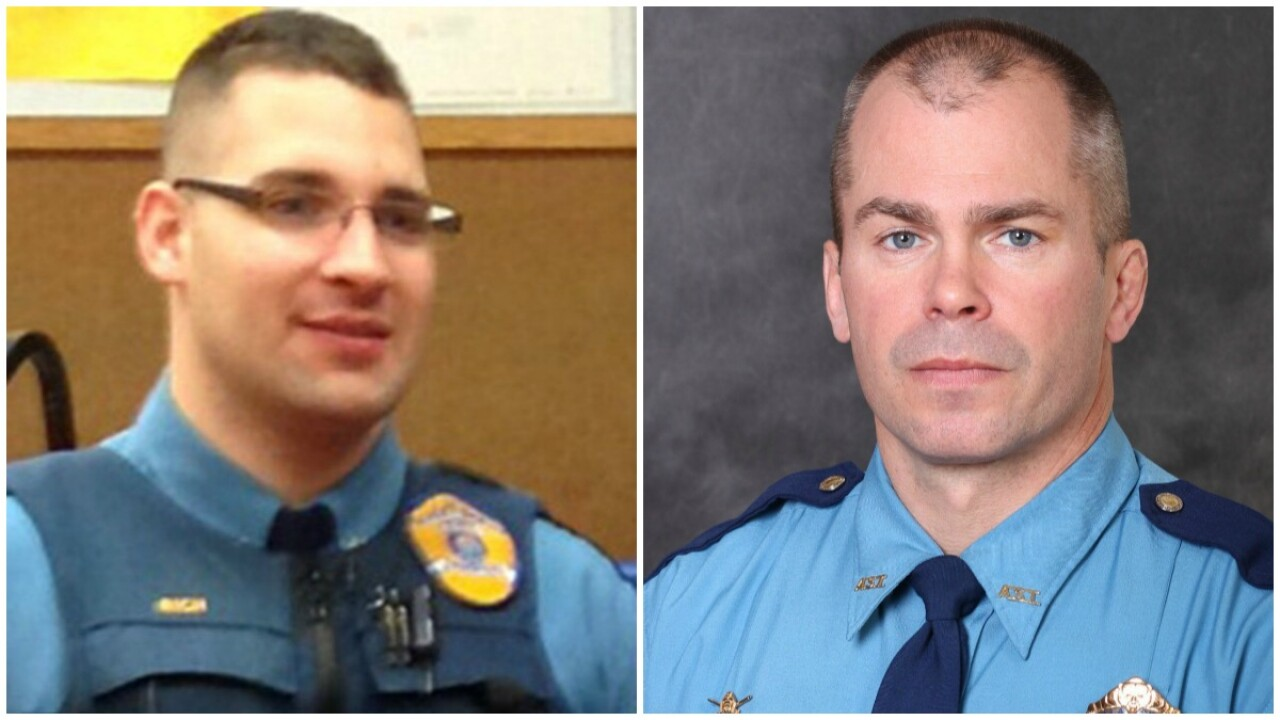 Officers from Alaska State Troopers show killed