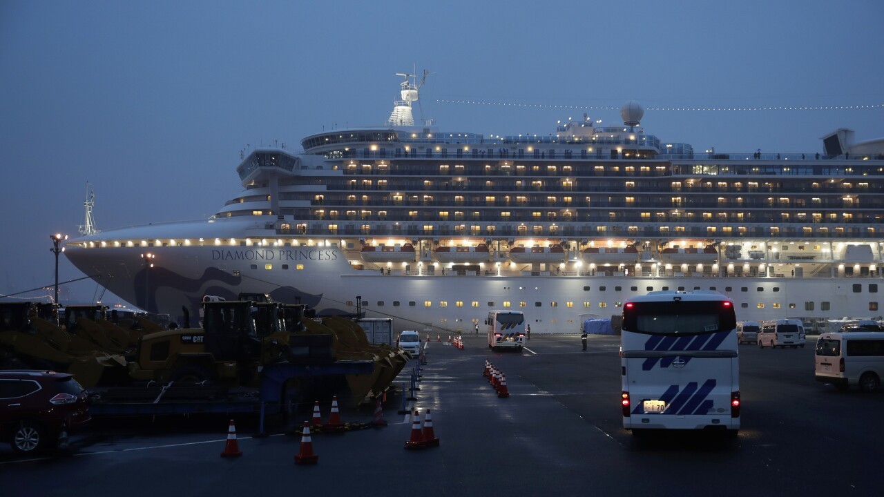 Japan outbreak cruise ship
