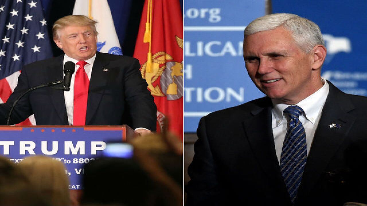 So what do Trump & Pence agree on? Not much