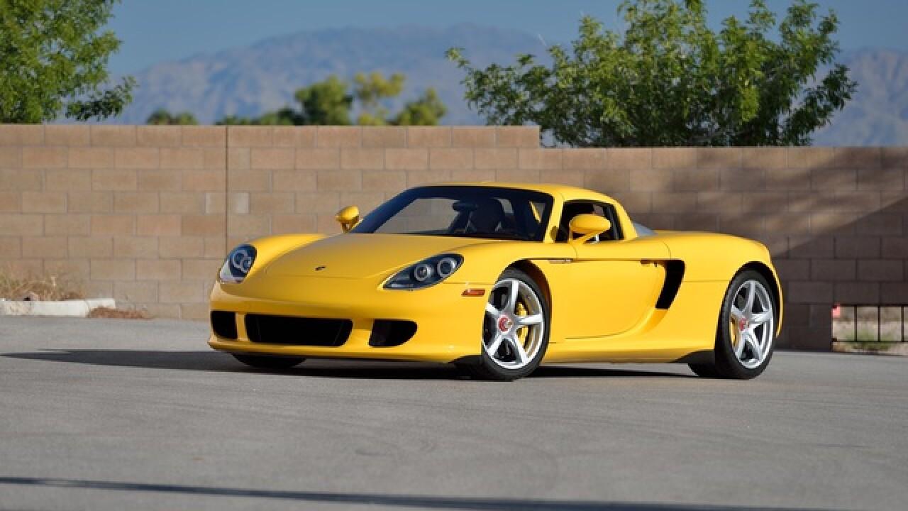 First Mecum car auction in Las Vegas underway