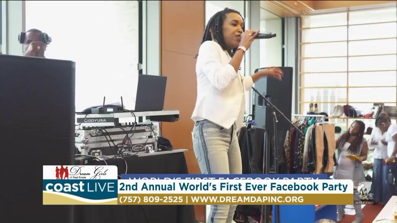 """Getting ready for the """"2nd Annual Worlds 1st Ever Facebook Party"""" on CoastLive"""