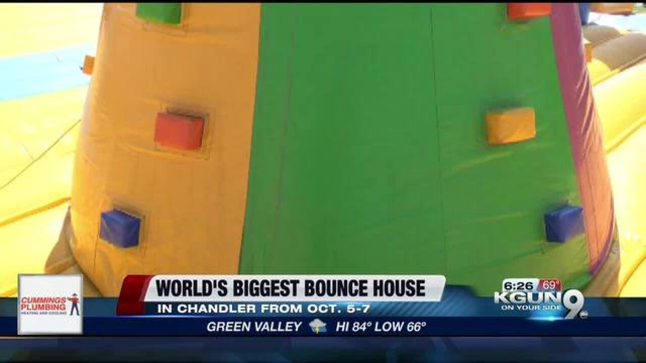 World's Biggest Bounce House is coming to AZ