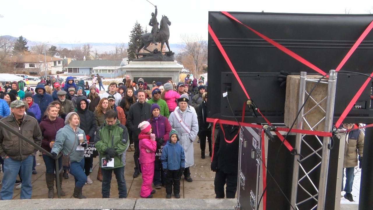 Anti-abortion atavists gather at State Capitol for March for Life