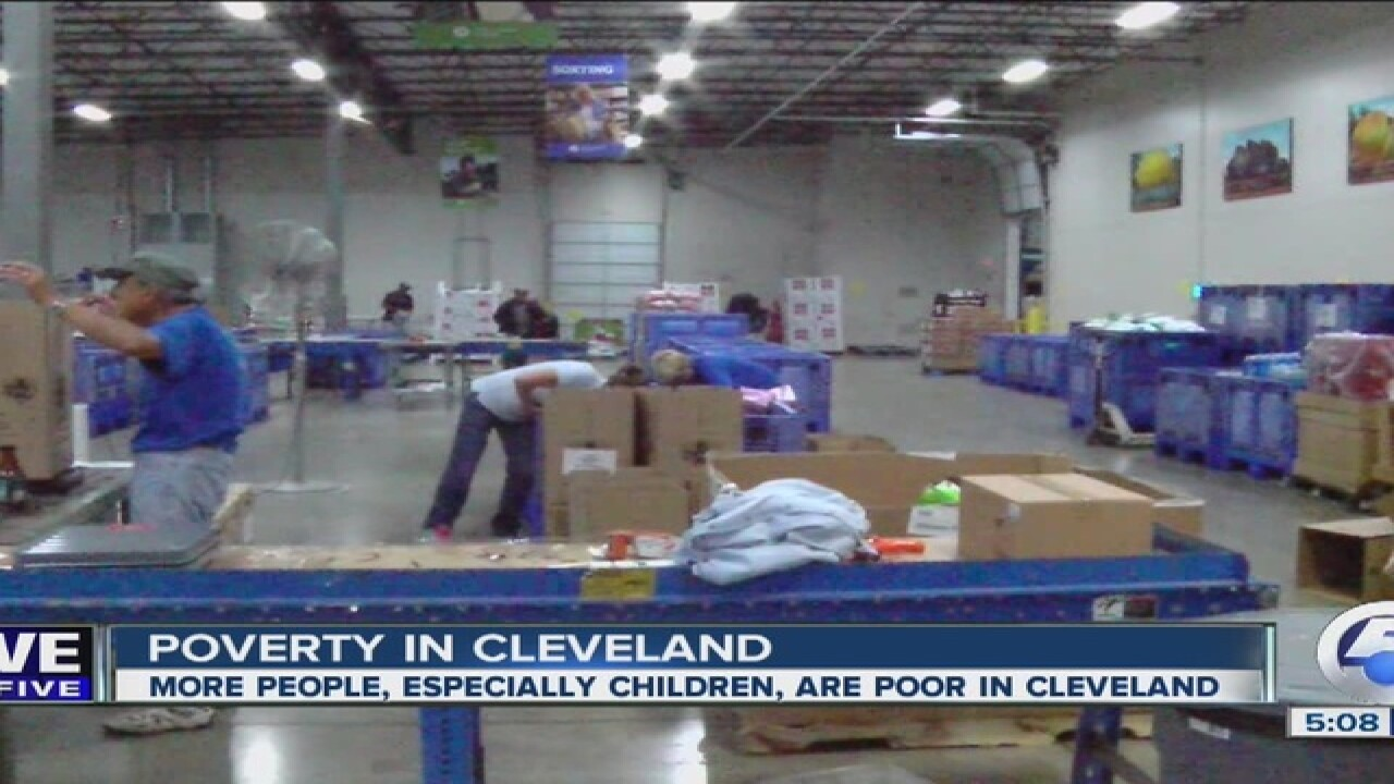 Number of people in poverty rises in Cleveland