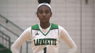 Dacia Jones Lafayette Basketball 2021