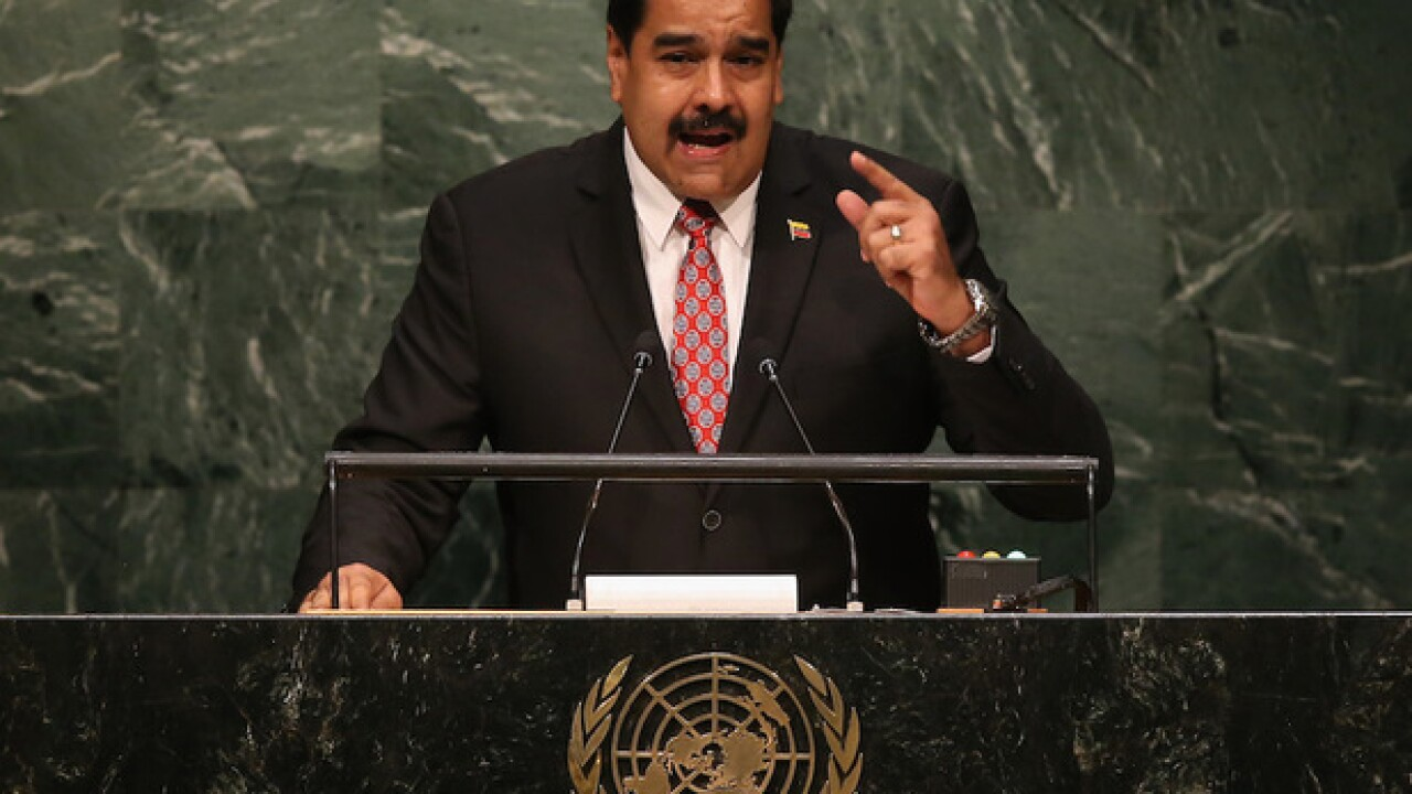 US officials secretly met with Venezuelan military officers plotting a coup against Maduro