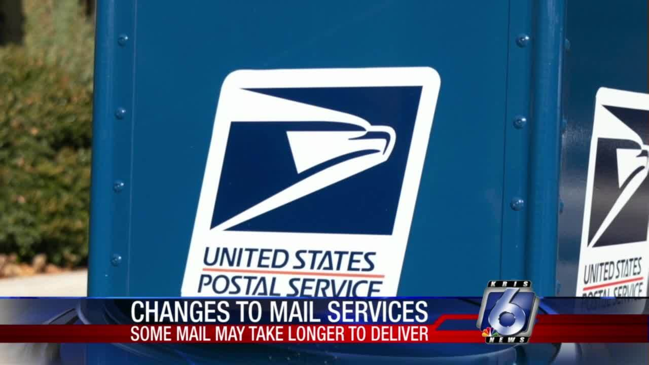 Changes upcoming which could make U.S. Postal Service delivery slower