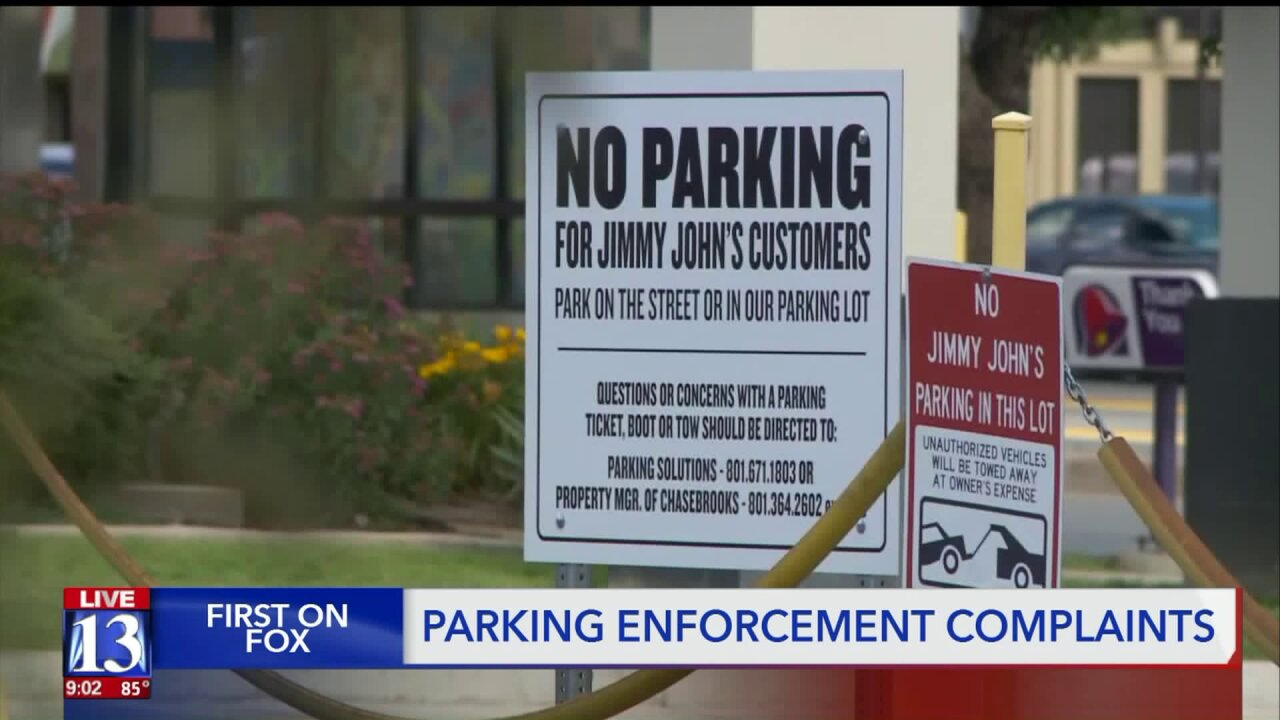 Better Business Bureau warns of unethical private parking enforcement in SLC