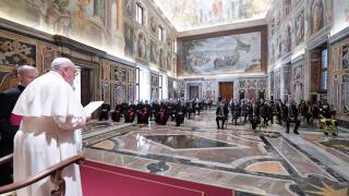 Virus Outbreak Pope Lombardy