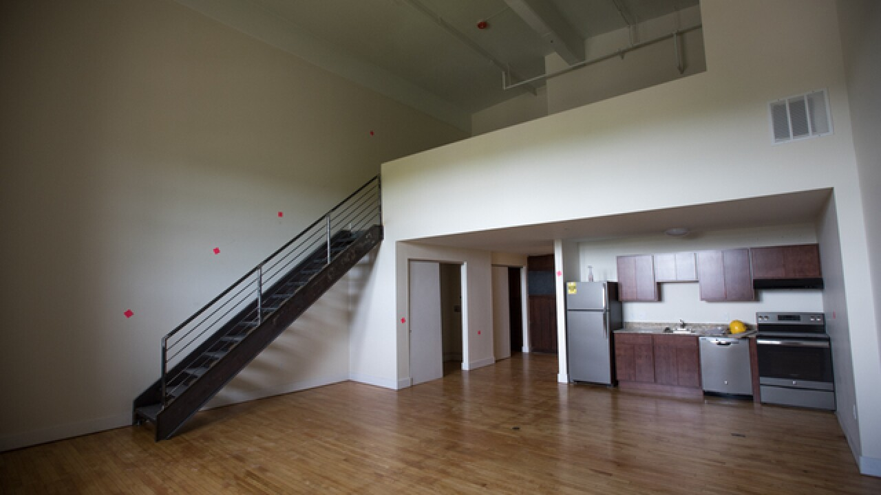 Peek inside former school turned apartments