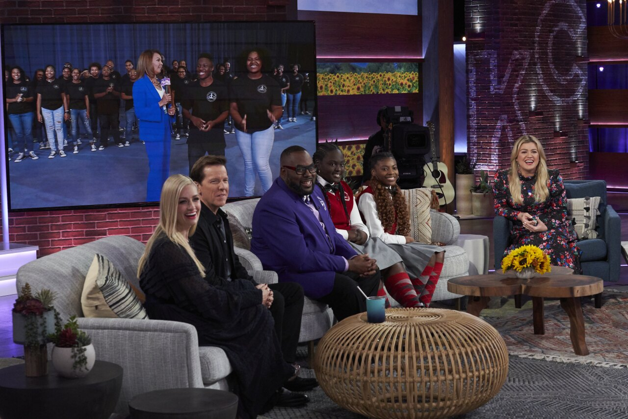 DYC on The Kelly Clarkson Show  2