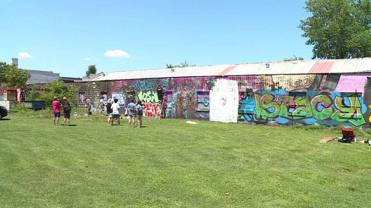 Paint Party in Richmond attracts artists from across thecountry