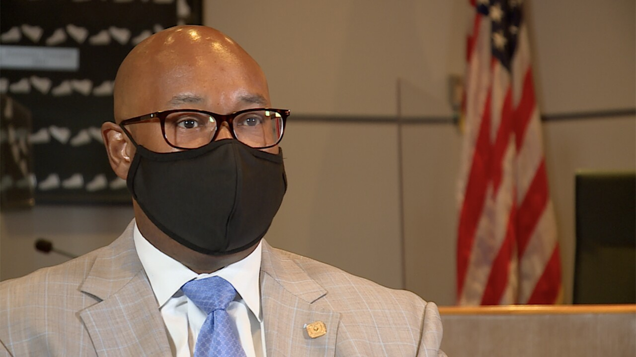 Palm Beach County Superintendent Dr. Donald Fennoy talks to WPTV on March 11, 2021.jpg
