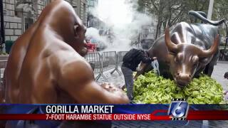 """Gorilla market"" at the New York Stock Exchange"