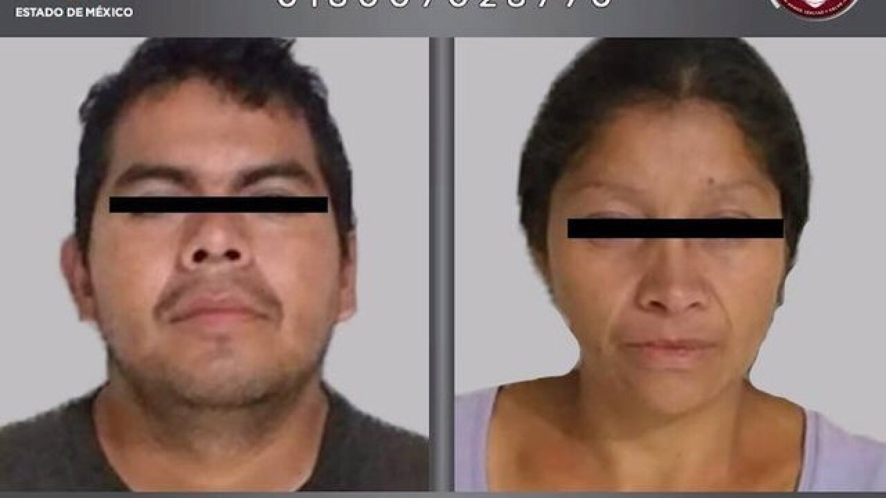 Mexican couple arrested with body parts in stroller may have killed