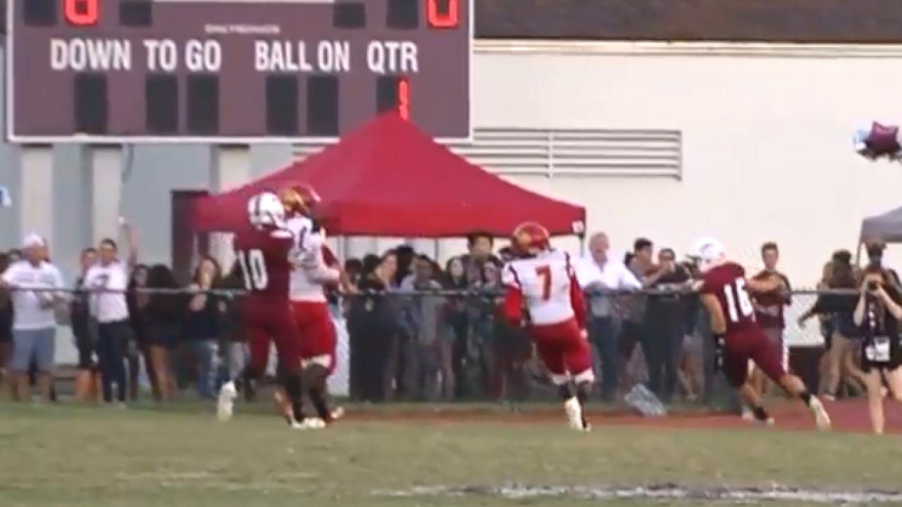 Marjory Stoneman Douglas hosts first football game since mass shooting