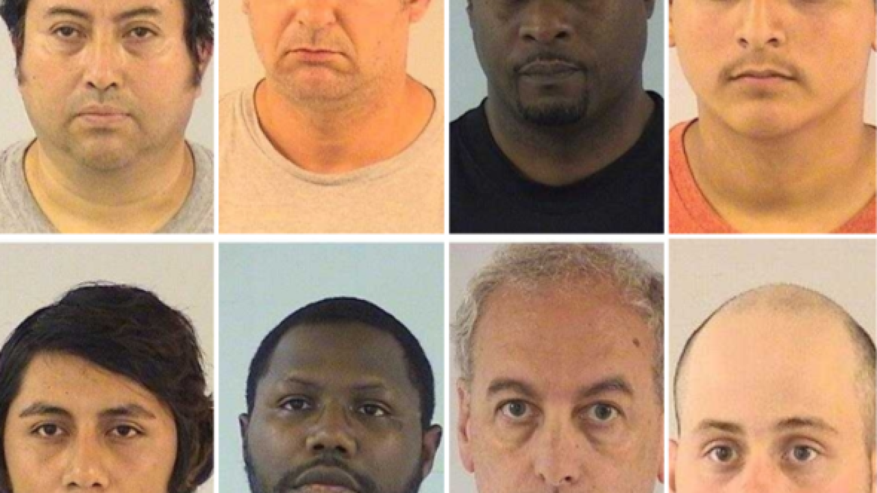 Three Wisconsin men arrested in Illinois prostitution sting