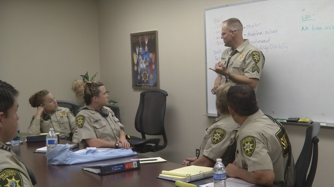 Sheriffs meet with Governor on school violence