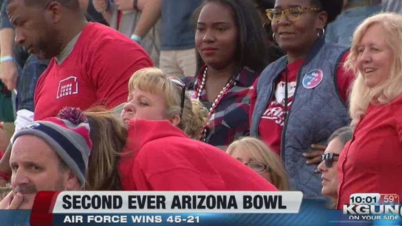 Air Force wins the 2nd Home Loans Arizona Bowl