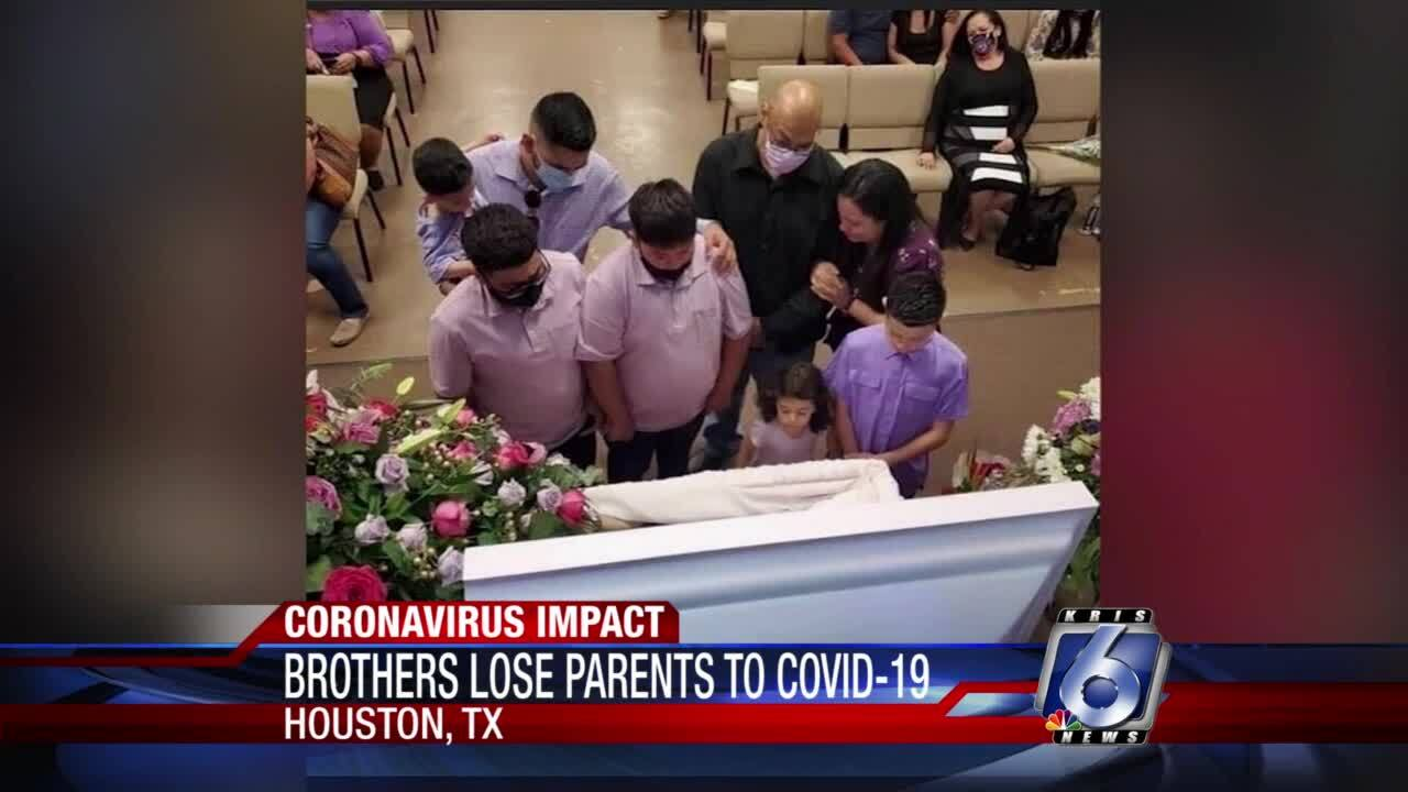 Brothers lose both parents to COVID-19