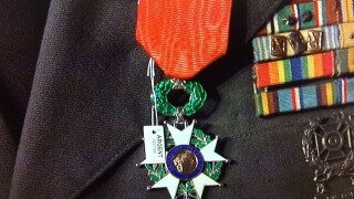 Delhi veteran given French Legion of Honor Medal