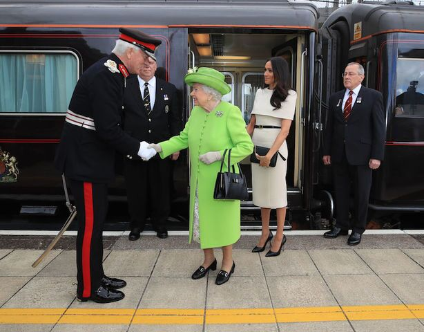 Meghan Markle and Queen Elizabeth's day out on the Royal Train