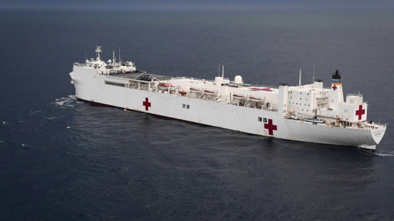 Hospital ships being sent to New York, West Coast to help in fight against coronavirus