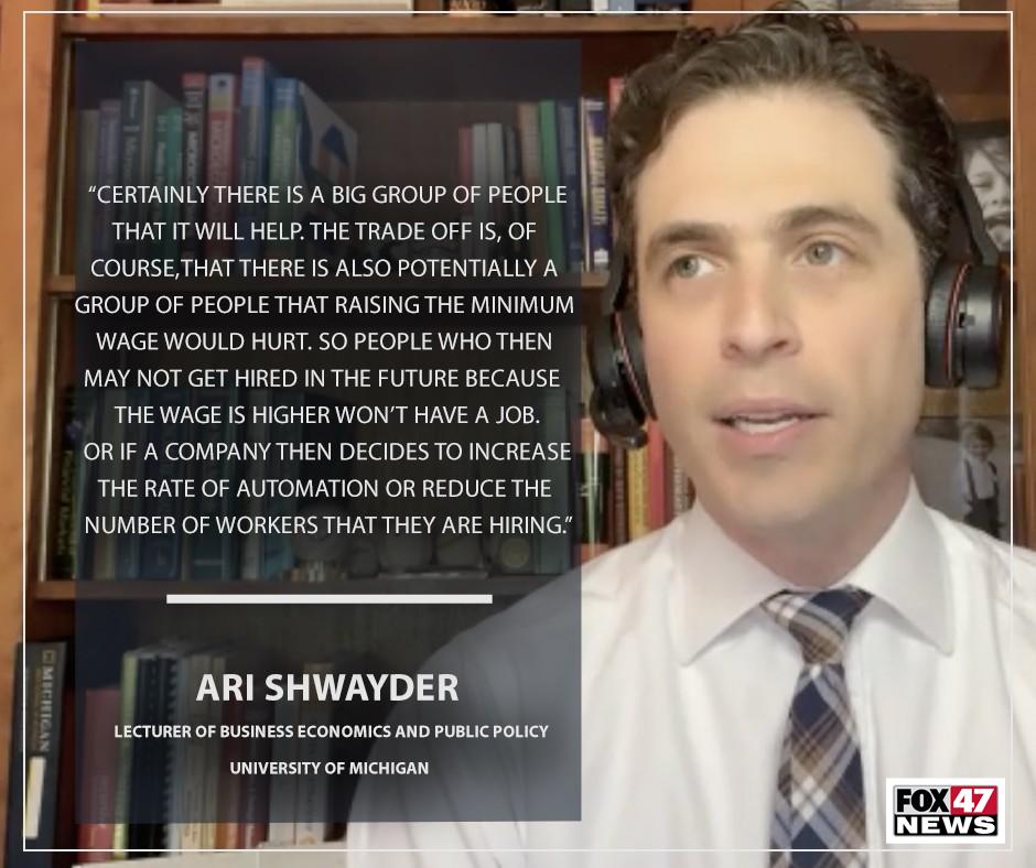 Ari Shwayder, University of Michigan Ross School of Business.