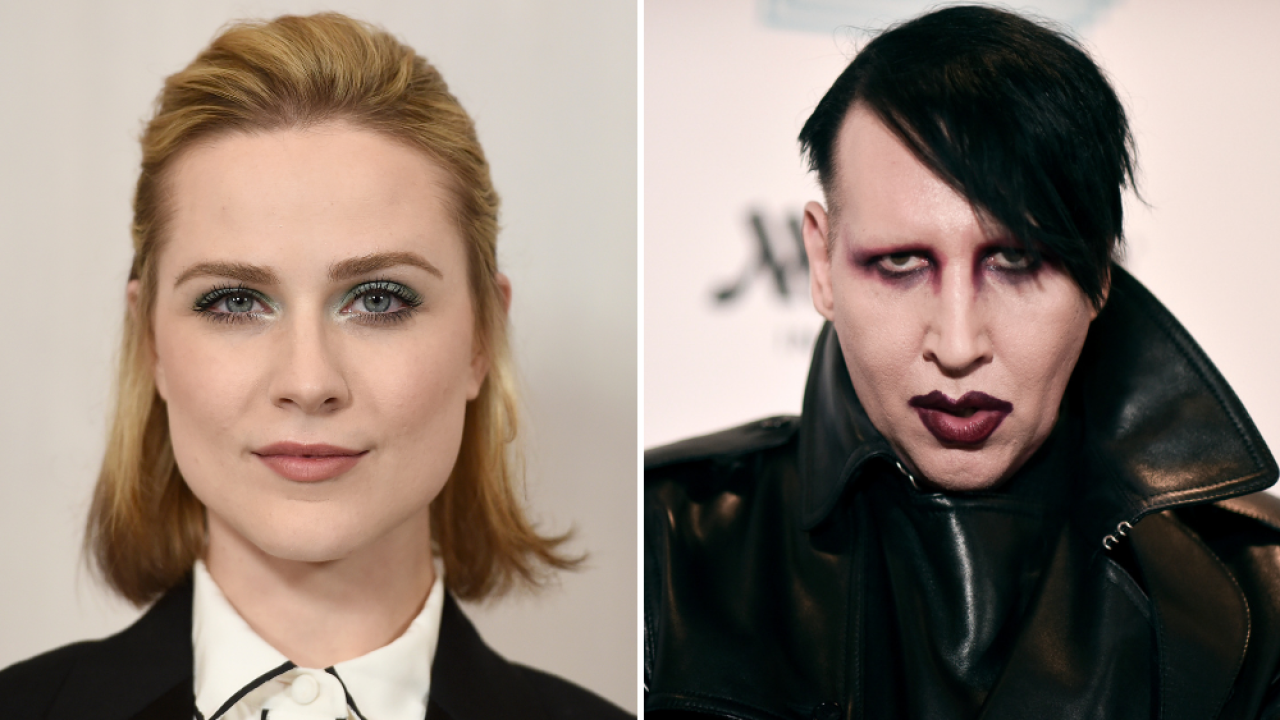 Evan Rachel Wood Marilyn Manson