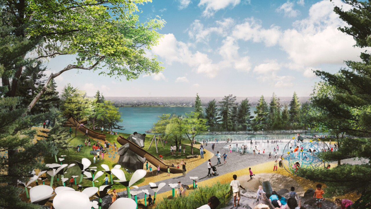 Design firms pitch plans for riverfront park