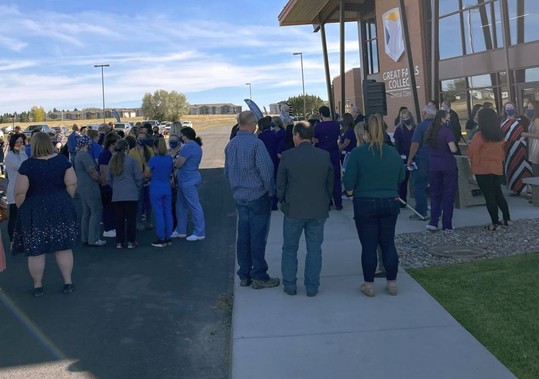 Great Falls College hosts ribbon-cutting ceremony for expanded dental clinic