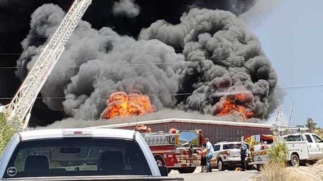 Family business in Globe goes up in flames