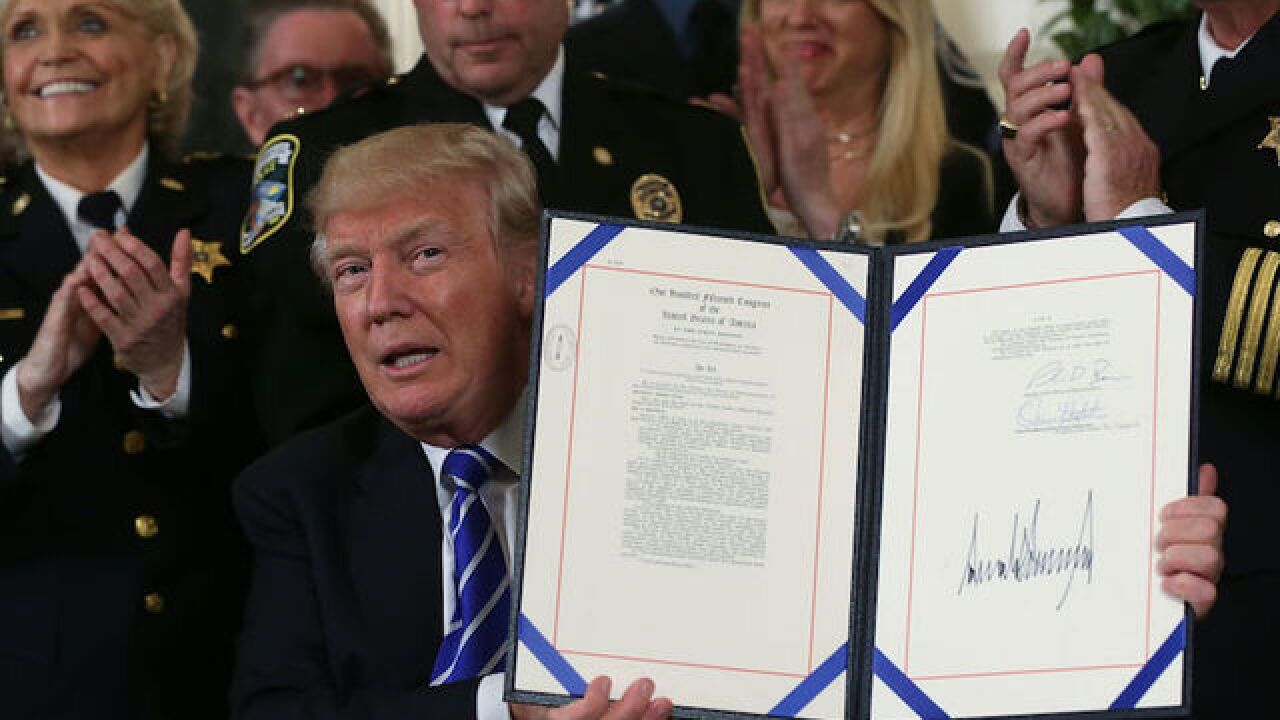 Here are the 53 bills Trump has signed into law so far